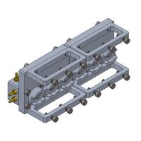 Caja de transmisión con motor para Bruder L574