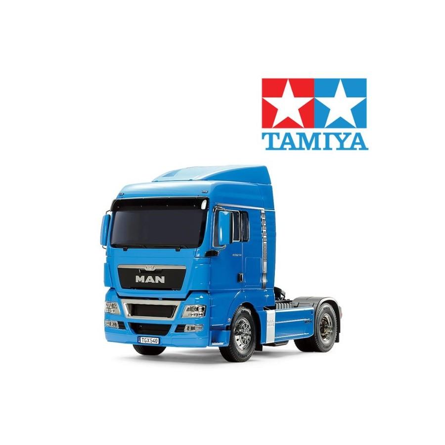 Tamiya MAN TGX 18.540 (Azul french)