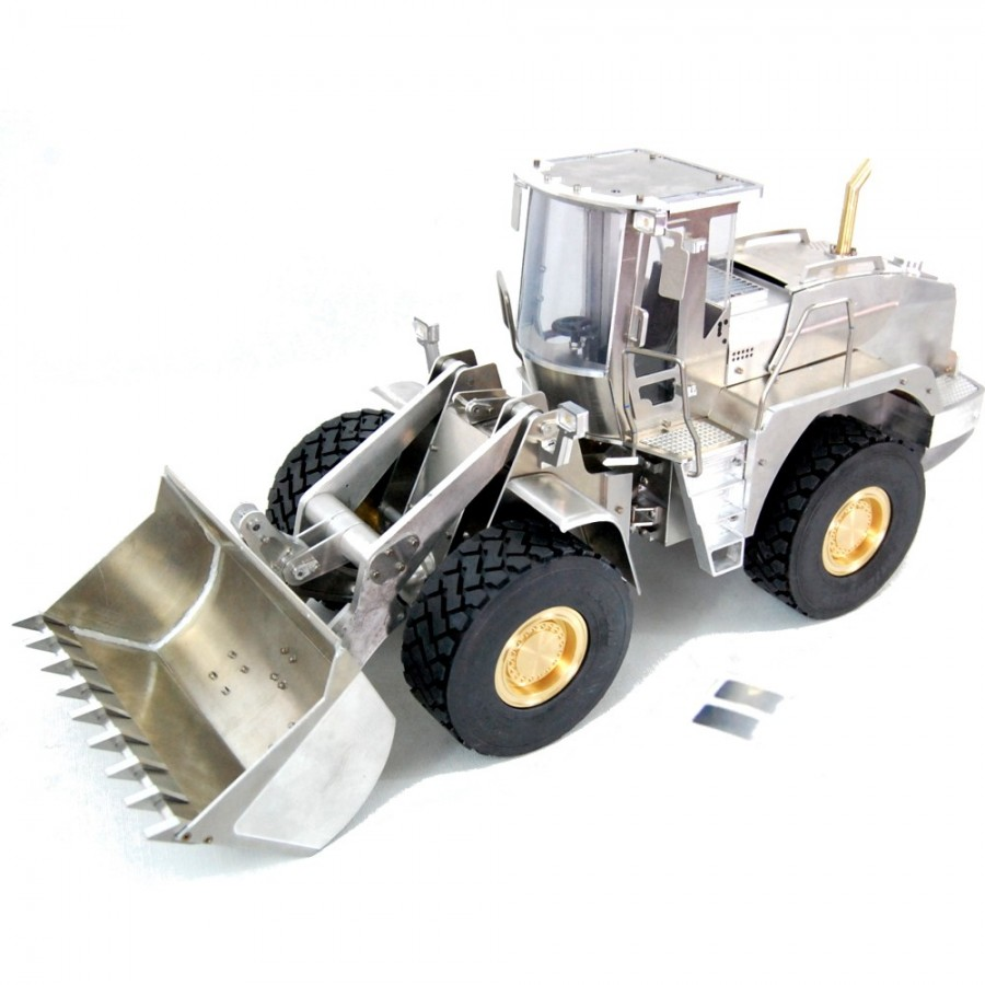 Complete chassis for 4x4 trucks - servo - 1:16