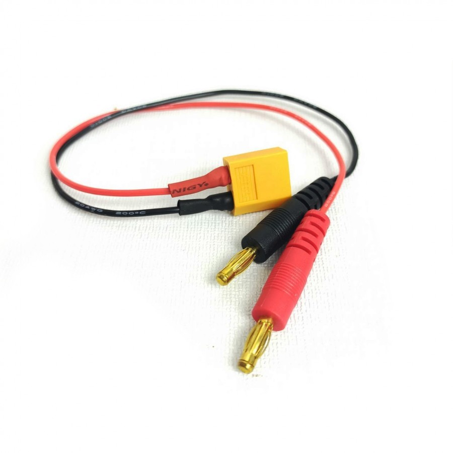 Cable para cargador de Batería XT60