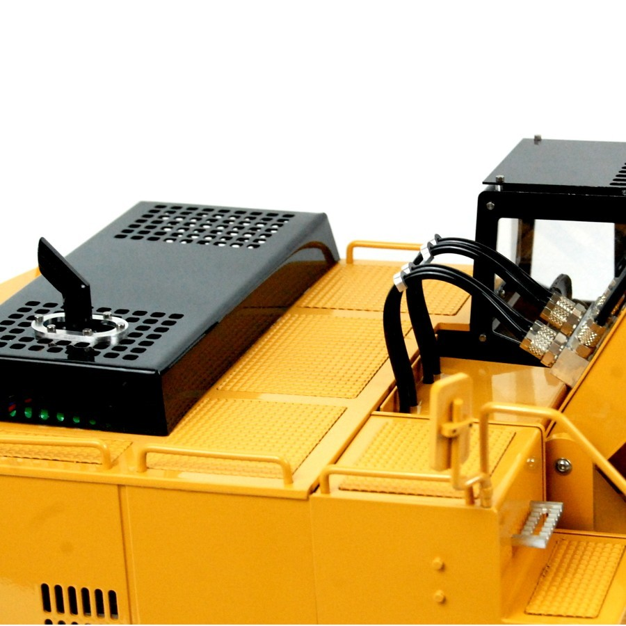 Cable cover for chassis - MAN TGS - 1:16
