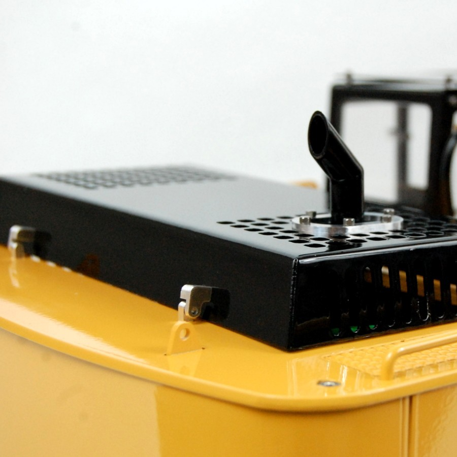 Cable cover for chassis - MAN TGA - 1:16
