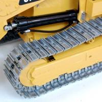 973D 1/14 Full metal Track Loader + Transmitter + Battery -  VERSION 2