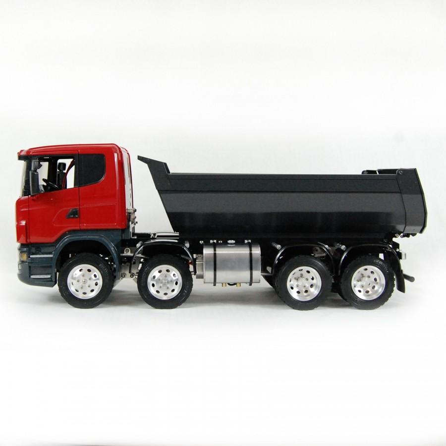 MAN TGS 8x8 crane truck (SD) + Transmitter + Battery + Charger