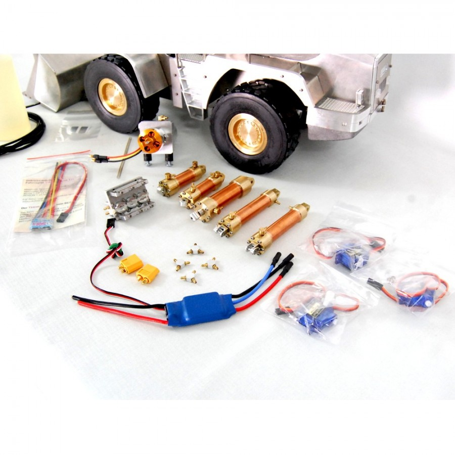 MAN TGS 6x6 Truck + Transmitter + Battery