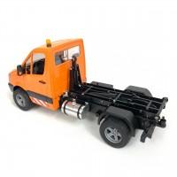 MAN TGS 8x8 camion gru (SD) + Tlecomando + Batteria