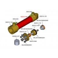 Tubo cobre - botella hidráulica 12mm