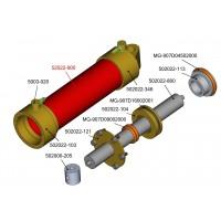Kupferrohr - 22mm Hydraulikzylinder