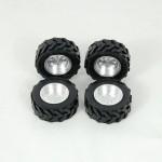 Llantas de Aluminio + Neumáticos para CAT 236B (4)
