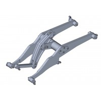 Brazo de metal para cargadora de ruedas