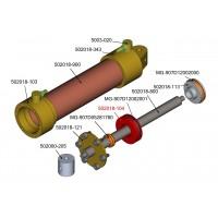 Innenteil der 18mm hydraulikzylinder