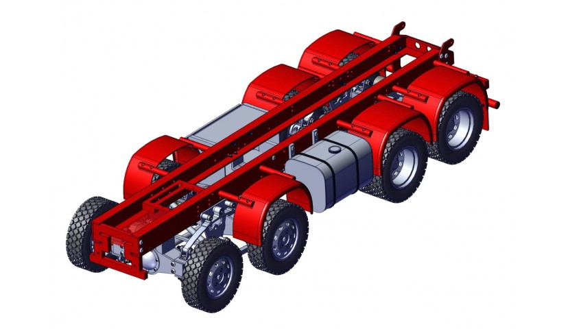 Châssis - 8x8 (SERVO)