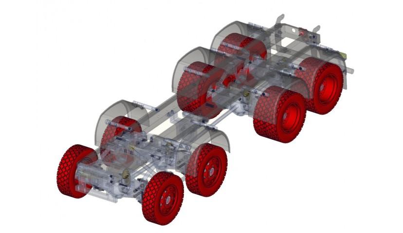 Rims and tires - 8x8 (SERVO)