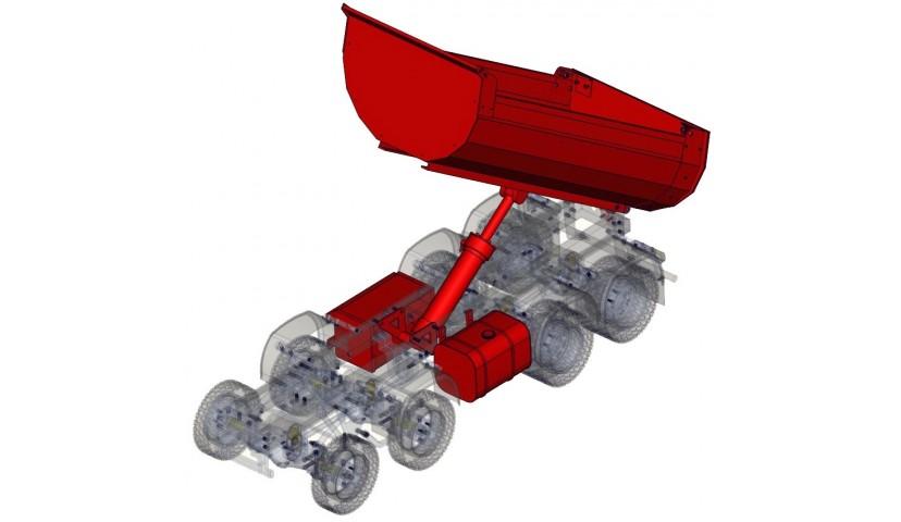 Hydraulik - 8x8 (SERVO)