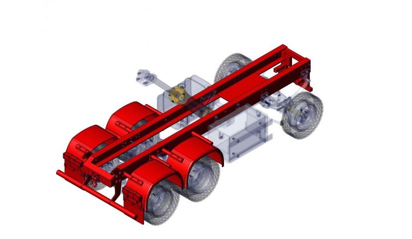 Chassis - 6x6 (SERVO)