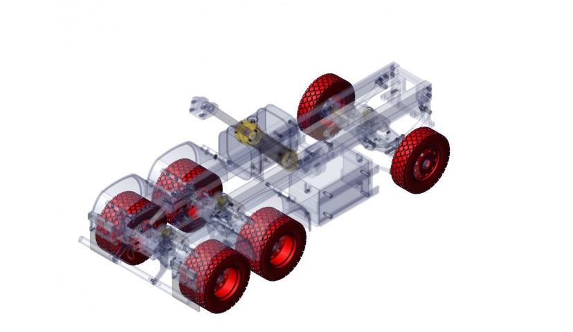 Llantas y neumáticos - 6x6 (SERVO)