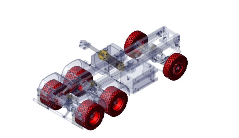 Räder und Reifen - 6x6 (SERVO)