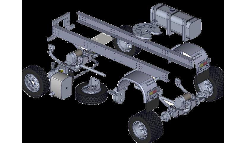 TRAKTORKOPF 4x4 - Servo angetrieben
