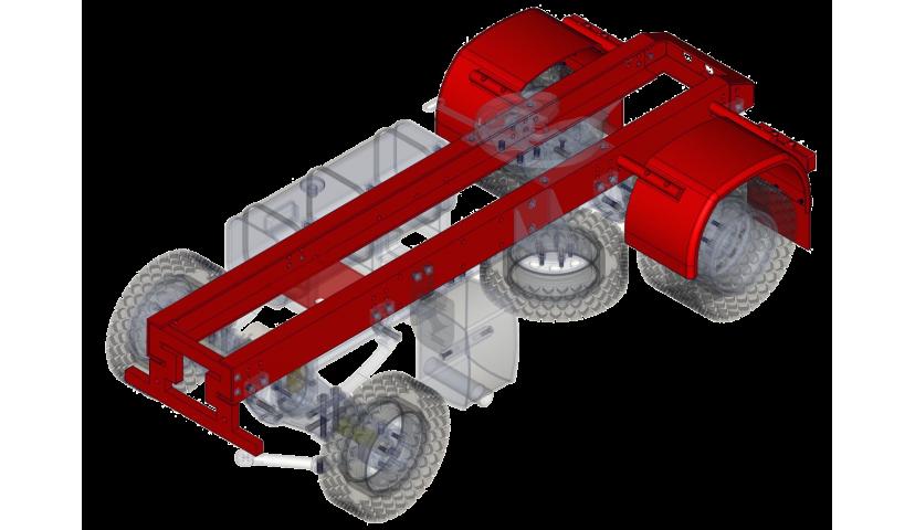 Chasis - 4x4 (SERVO)