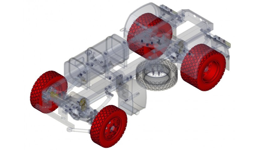 Rims and tires - 4x4 (SERVO)