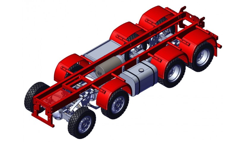 Chassis 8x8 - SD