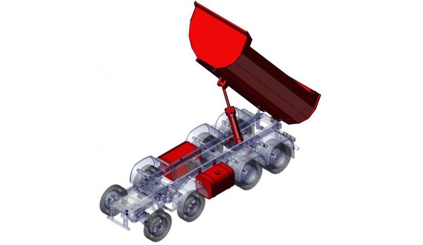 Hydraulique - 8x8 (SD)