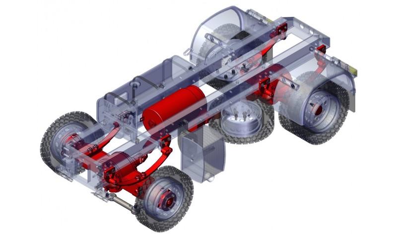 Transmisión y suspensión - 4x4 (SD)