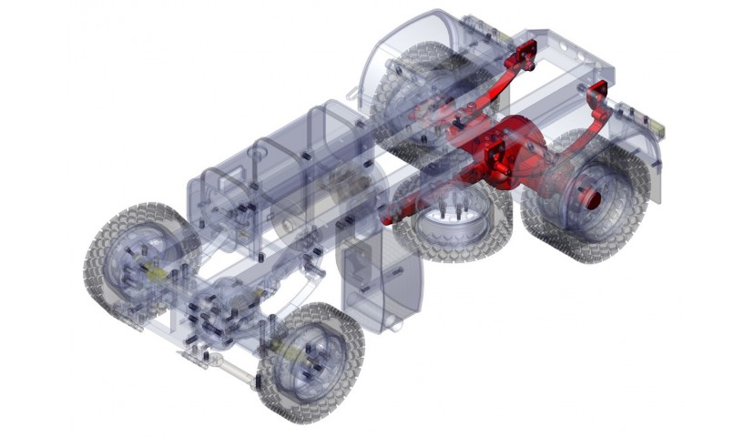 Hinteres Differential - 4x4