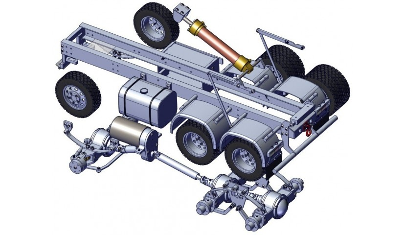 6x6 TRUCK - shaft driven
