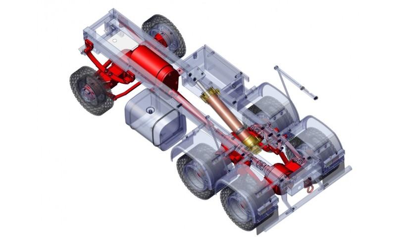 Getriebe und Fahrwerk - 6x6 (SD)