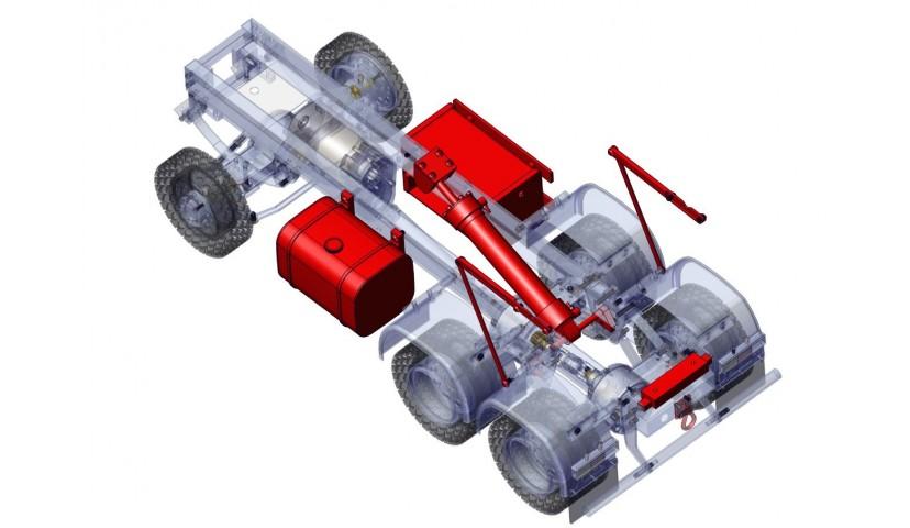Hydraulique - 6x6 (SD)