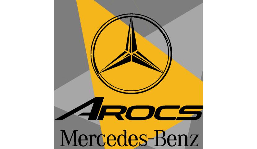 MERCEDES AROCS tombereau (SD)
