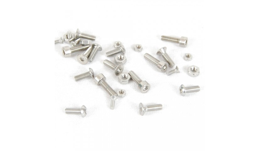 Magom HRC hardware. Screws, screw nuts, pins.
