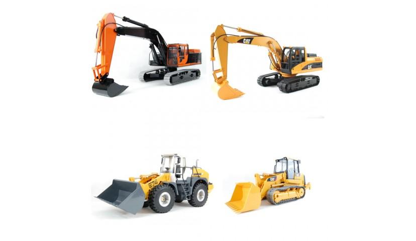 RC MACHINES DE CONSTRUCTION