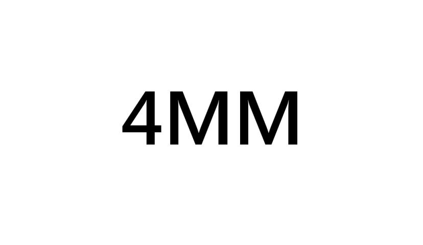 PARA TUBERÍA DE 4 MM
